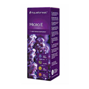Aquaforest - AF Micro E 50 ml - Supplemento di metalli pesanti concentrati.