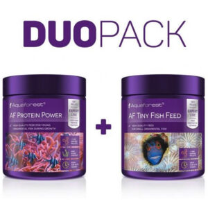 Aquaforest - Duo Pack - Protein Power 120gr / Tiny Fish Feed 120gr